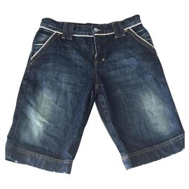 Dolce & Gabbana-Mädchen Shorts-Blau