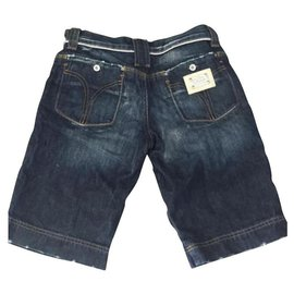 Dolce & Gabbana-Girl Shorts-Blue