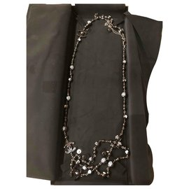 Chanel-Chanel Long necklace Coco Mademoiselle-Black