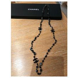 Chanel-Chanel Sautoir Coco Mademoiselle-Noir