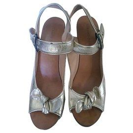 Gerard Darel-Sandals-Golden