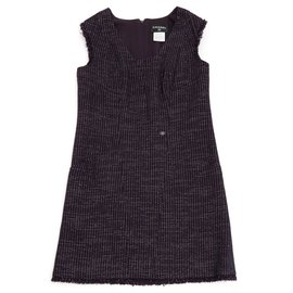 Chanel-PURPLE TWEED FR42-Violet