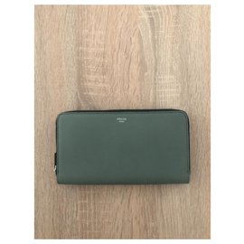 Céline-Wallets-Green