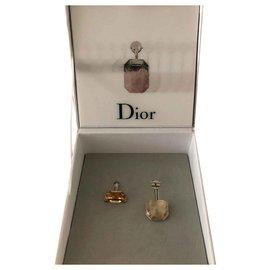 Dior-Boucles d'oreilles-Jaune