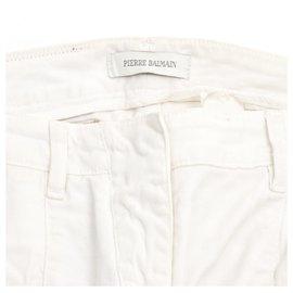 Balmain-WHITE BULKY US28-Blanc