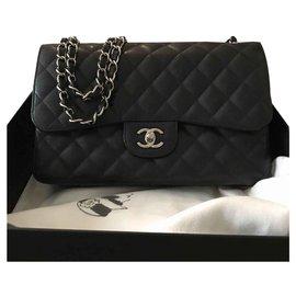 Chanel-Timeless Jumbo-Noir