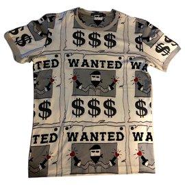 Dolce & Gabbana-T-shirt avec imprimé-Autre
