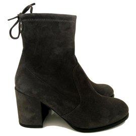 8d00866cb2d1 Stuart Weitzman-Stuart Weitzman ankle boots - New with tag-Grey ...