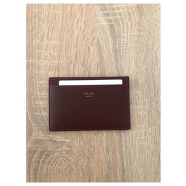 Céline-Wallets Small accessories-Dark brown