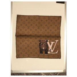 Louis Vuitton-square pocket-Brown
