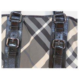 Burberry-Handbags-Black,Grey