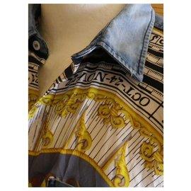 Dolce & Gabbana-chemise DOLCE & GABBANA taille 42 très bon état-Multicolore