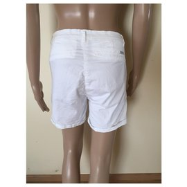 Maison Scotch-short-Blanc
