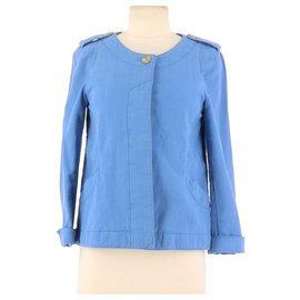 Comptoir Des Cotonniers-Veste / Blazer-Bleu