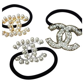 Chanel-Chanel elastic for hair-Multiple colors