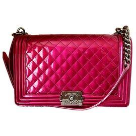 Chanel-Boy  new medium-Pink