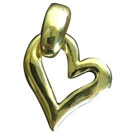 Yves Saint Laurent-Yves Saint laurent pendant-Golden