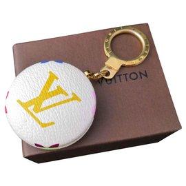 Louis Vuitton-Rare bijoux de sac Louis Vuitton astropill-Blanc,Multicolore