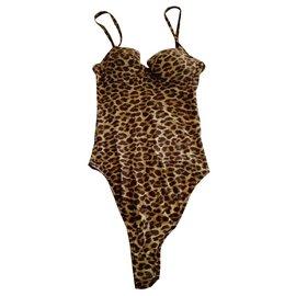 3b2059627a Christian Dior-Shirt 1 thong piece Ref.785-Leopard print ...
