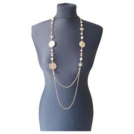 Chanel-Lange Halsketten-Mehrfarben