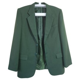Trussardi-Vestes Blazers-Vert