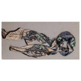 Fendi-Foulards de soie-Multicolore