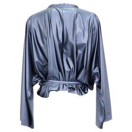 Balenciaga-Balenciaga blouse-Blue