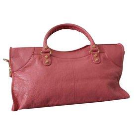 Balenciaga-BALENCIAGA PART TIME VILLE ROSE-Rose
