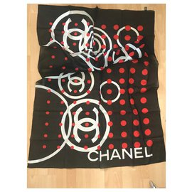 Chanel-PAREO CHANEL-Black