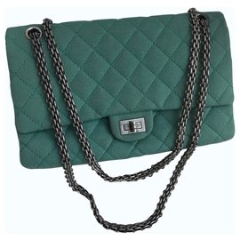 Chanel-2.55 Reissue 28 cm Large Flap Bag 226-Green,Light green,Turquoise