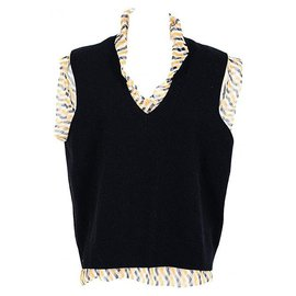 Dries Van Noten-Dries Van Noten top nouveau-Noir