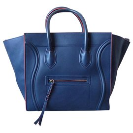 Céline-Céline Luggage Phantom-Navy blue