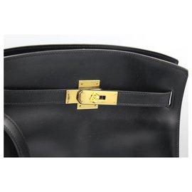Hermès-Kelly Spot-Black
