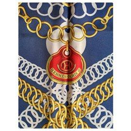 Hermès-Maillons-Rouge,Bleu