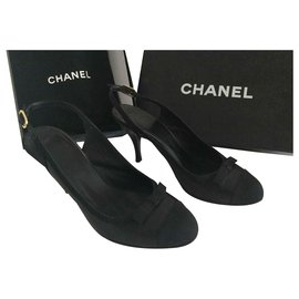 Chanel-Escarpins Chanel-Noir