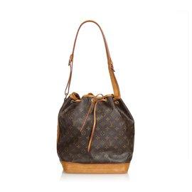 Louis Vuitton-Louis Vuitton Brown Monogram Noe-Marron