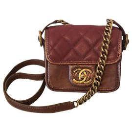 Chanel-Mini Chanel-Bordeaux