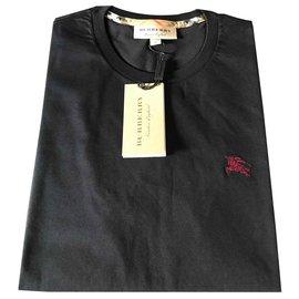 Burberry-burberry teeshirt tee shirt nouveau-Noir