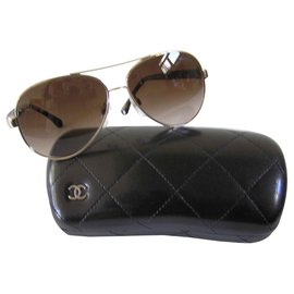 Chanel-Aviateur-Marron clair