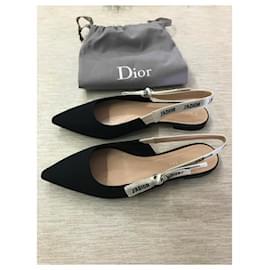 Dior-TISSU TECHNIQUE DIOR BALLERINA J'ADIOR NOIR-Noir