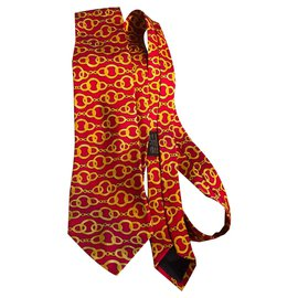 Chanel-Ties-Red,Yellow
