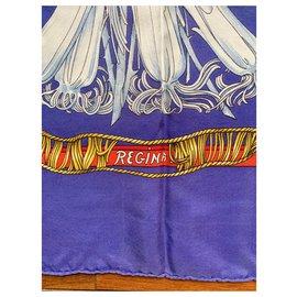Hermès-Regina-White,Red,Blue,Golden