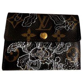 Louis Vuitton-Dentelle wallet-Marron