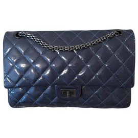 Chanel-Chanel 2.55 Reissue-Blue,Light blue