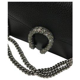 Gucci-mini sac gucci dionysus noir handbag-Noir