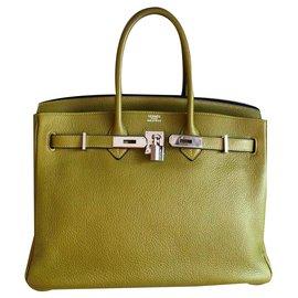 Hermès-Birkin-Vert,Vert olive