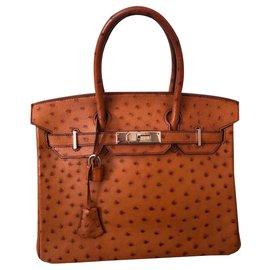 Hermès-Birkin 30-Brown,Light brown,Caramel