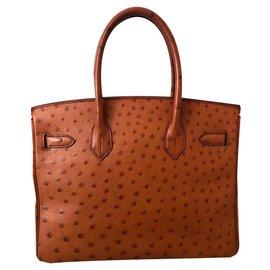 Hermès-Birkin 30-Marron,Marron clair,Caramel