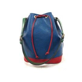 Louis Vuitton-NOE GM EPI TRICOLORE-Multicolore