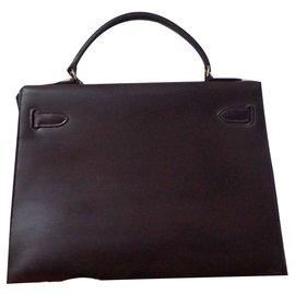 Hermès-Kelly 32-Dunkelbraun